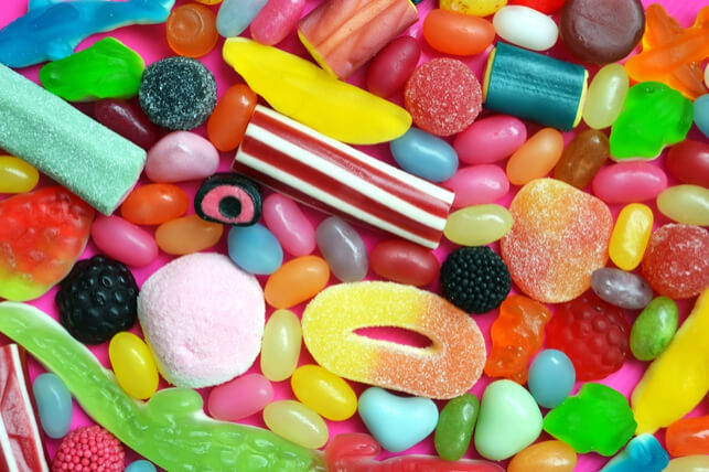 assortment of candies 2