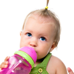 baby drinking from a sipper 4