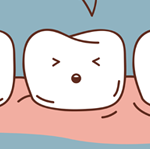 sensitive tooth cartoon photo 2